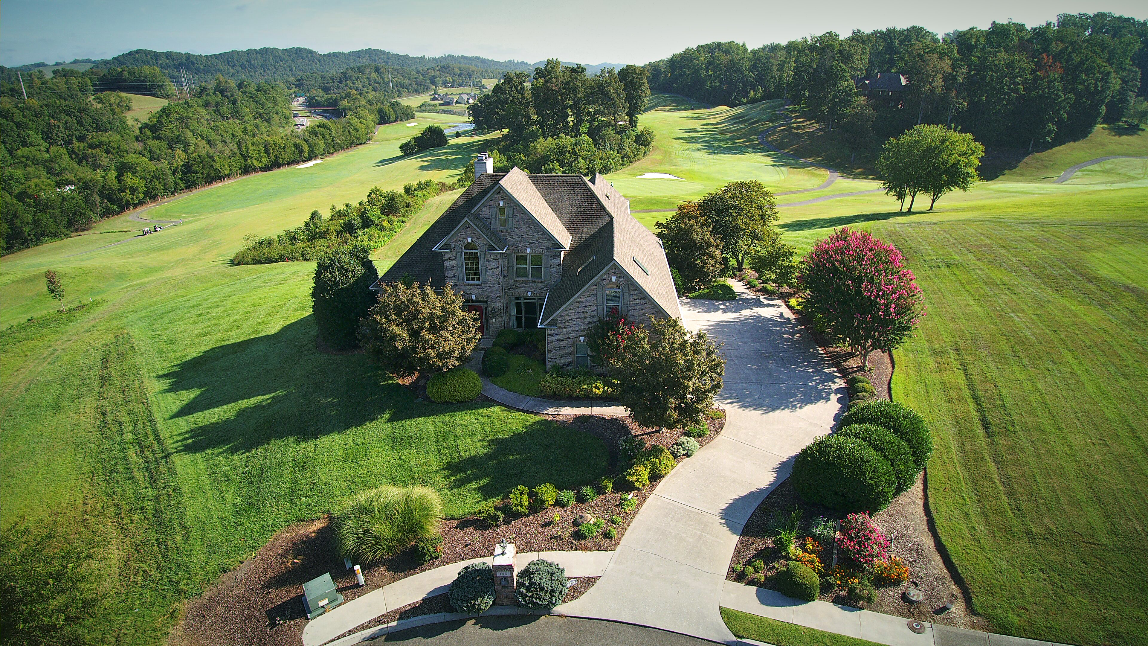 Drone Photography Knoxville Tennessee . . . Avalon Golf Community