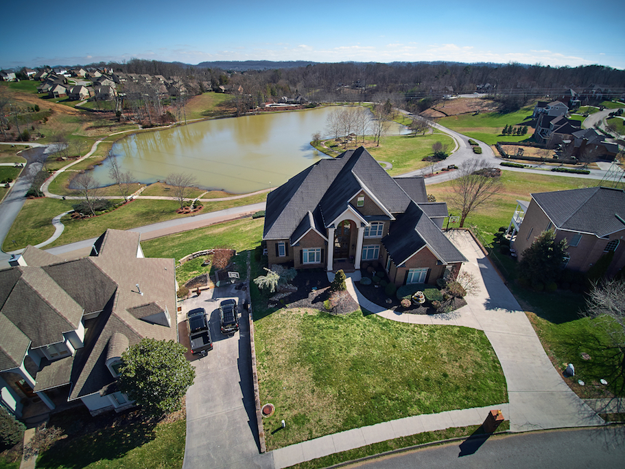 Drone Photography in knoxville TN Sell my house