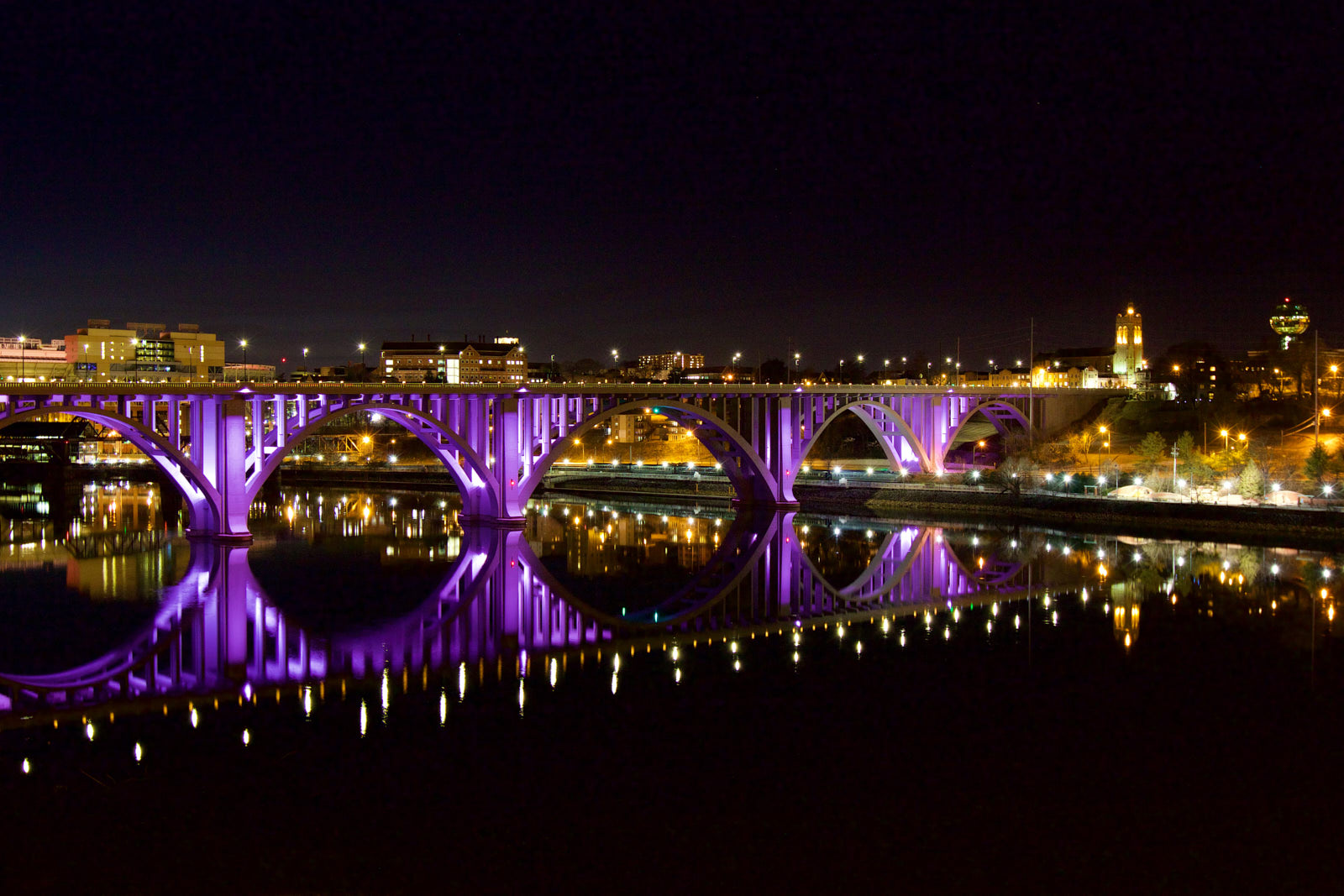 Henley Street Bridge Professional photographer in Knoxville, TN