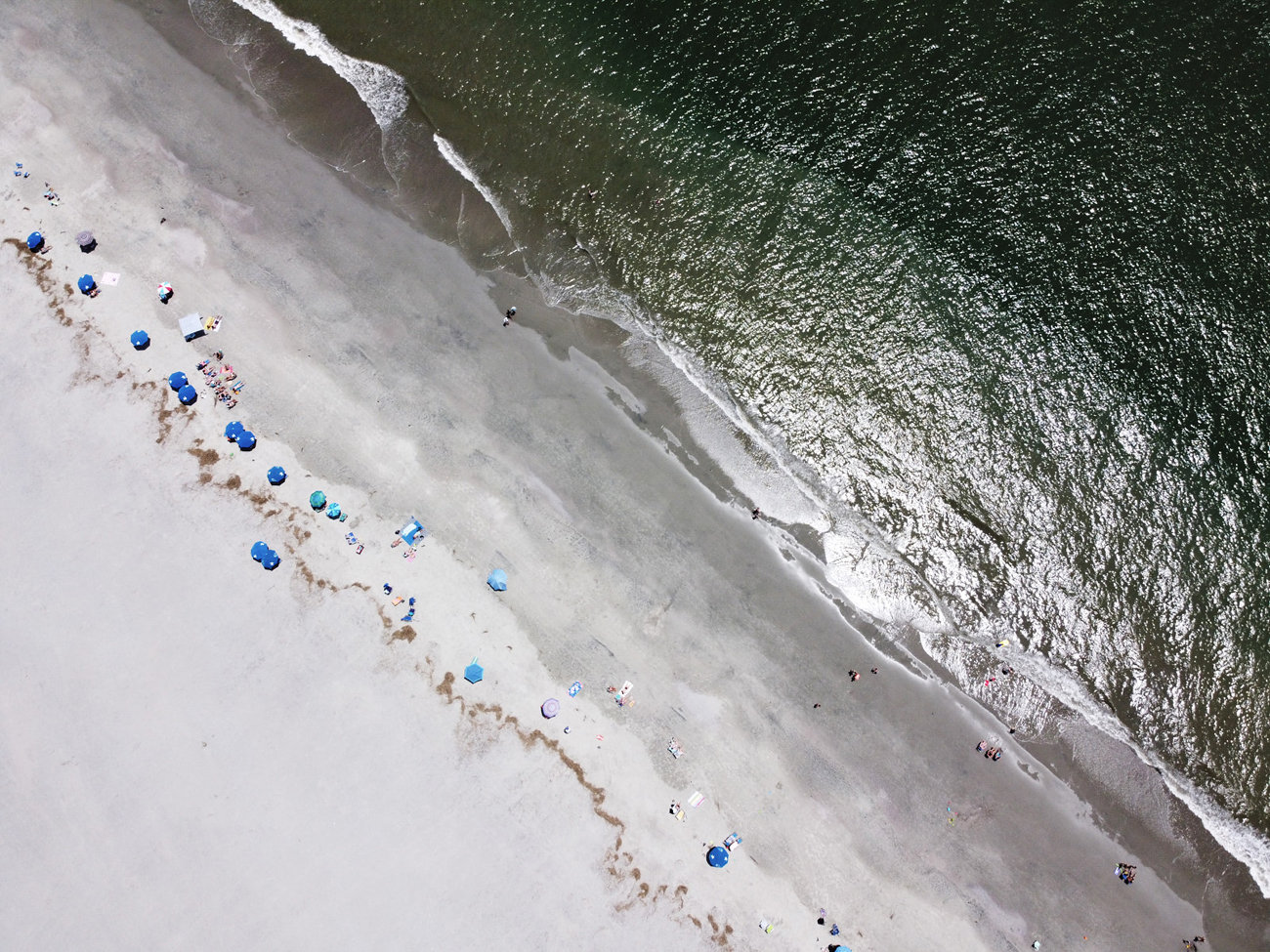 Drone Photography in Isle of Palms, SC